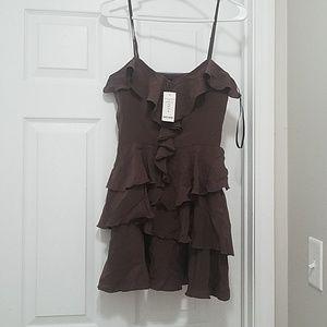 Bebe Washed Silk Bebe Dress